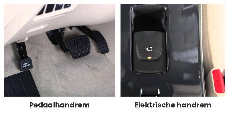 Handremsystemen bij Nissan Leaf